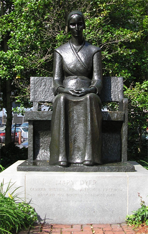 Mary Dyer Statue Friends Center