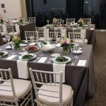 Cherry Street Room set for an elegant event